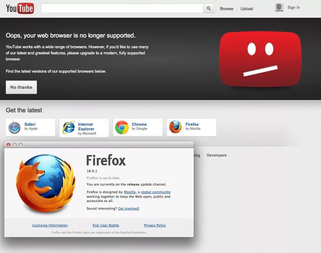 Упс браузер не поддерживается Скачать Google Chrome