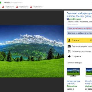 Добавить фото из Яндекс картинок в Яндекс коллекции