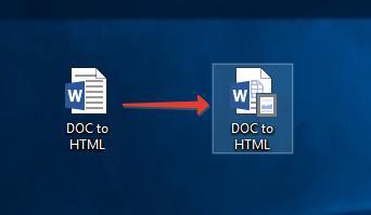 Конвертация Word DOC в HTML одним файлом