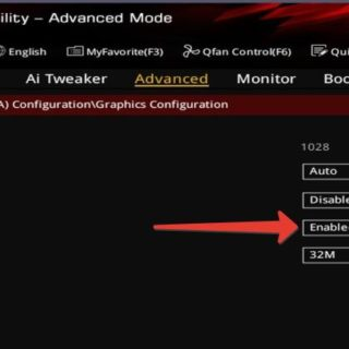 RC6 Render Standby BIOS