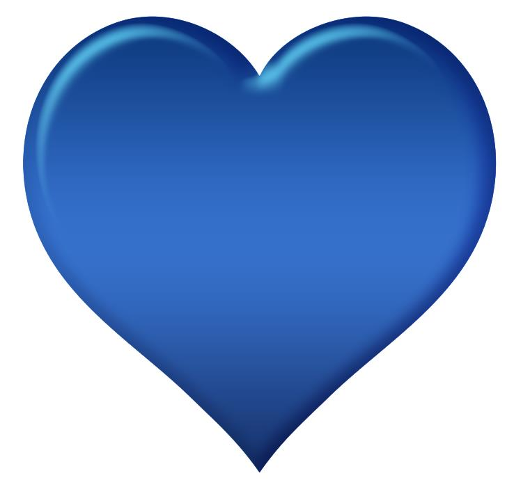 Что означает синее сердечко в ВК