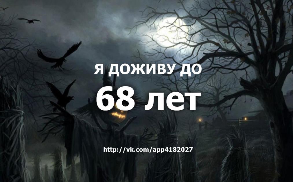 Тест на дату смерти ВК - приложение