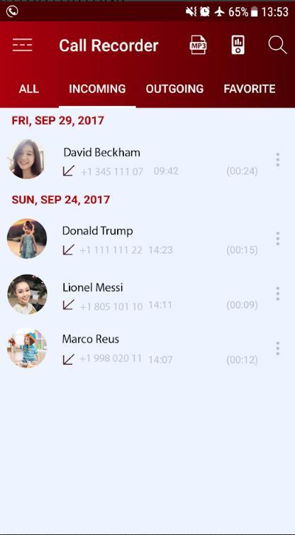 Автоответчик для Андроид для записи голосового сообщения