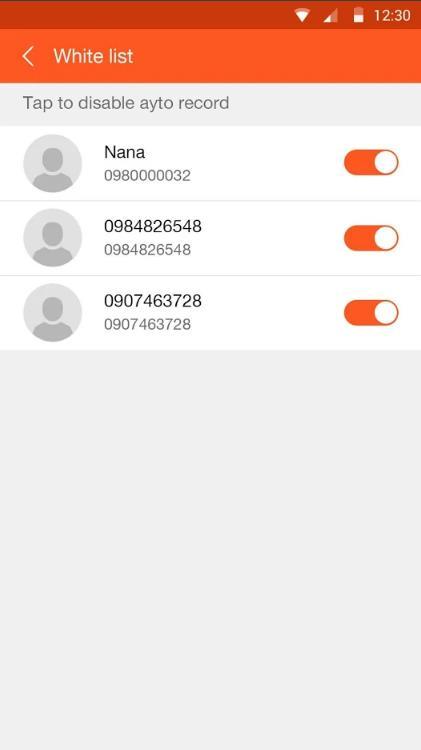 Запись звонков Android - избранные