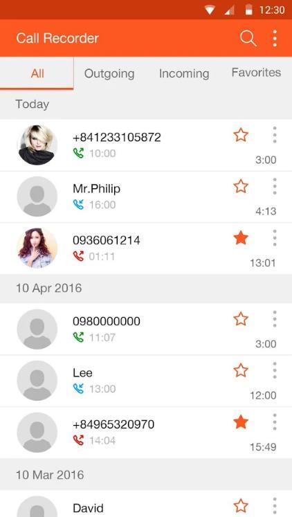 Запись звонков Android