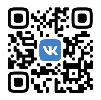 QR код для нового дизайна ВК