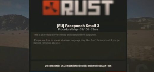 Disconnected EAC Blacklisted device Bloody mouse A4Tech в Rust