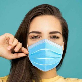 Как правильно носить медицинскую маску - какой стороной - фото